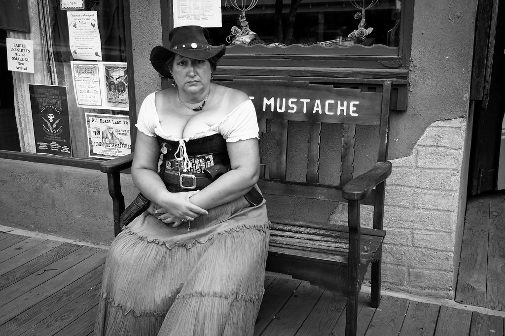 Mrs Mustache